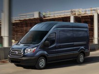 Ford Adds Rear-View Camera to 2016 Transit Van