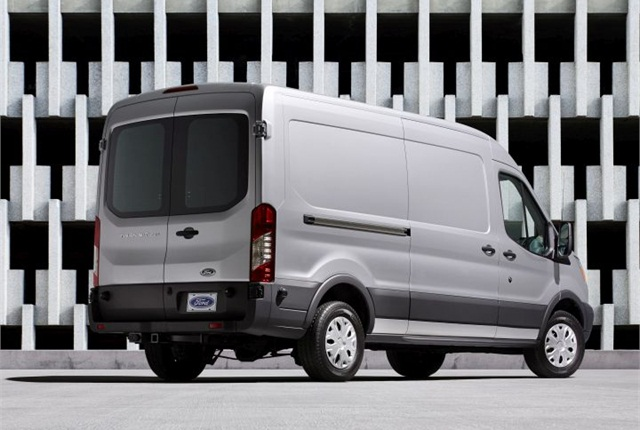 Photo of 2015 Ford Transit van courtesy of Ford.