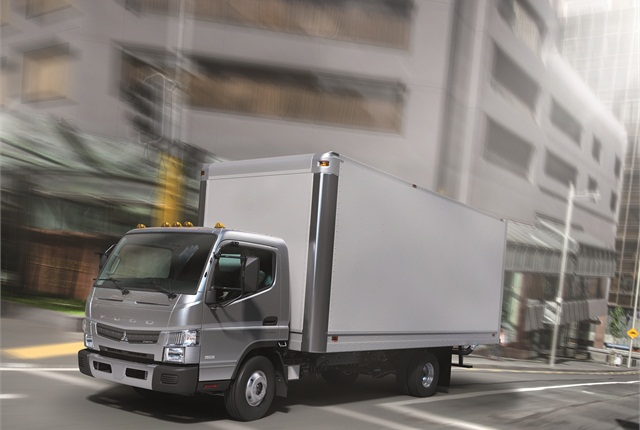 The FUSO Canter FE125 accommodates the same rear body widths and heights as its heavier Class 4 & 5 FE brethren