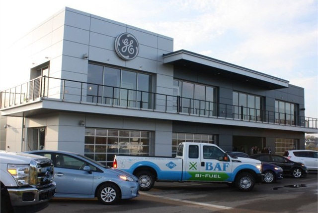 File photo of GE Capital Fleet's Vehicle Innovation Center in Eden Prairie, Minn.