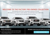 GM Adds Online Used-Vehicle Buying Program