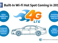 GM Adding 4G WiFi Hotspot Technology to 2015 Model-Year Vehicles