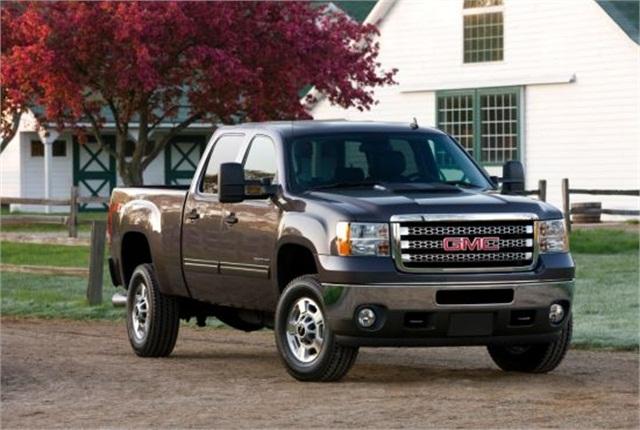2013 GMC Sierra HD pickup truck. Photo copyright: General Motors.