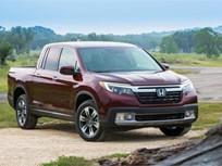 Honda's 2017-MY Ridgeline Goes on Sale