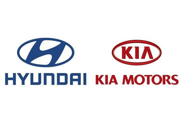Logos courtesy of Hyundai/Kia.