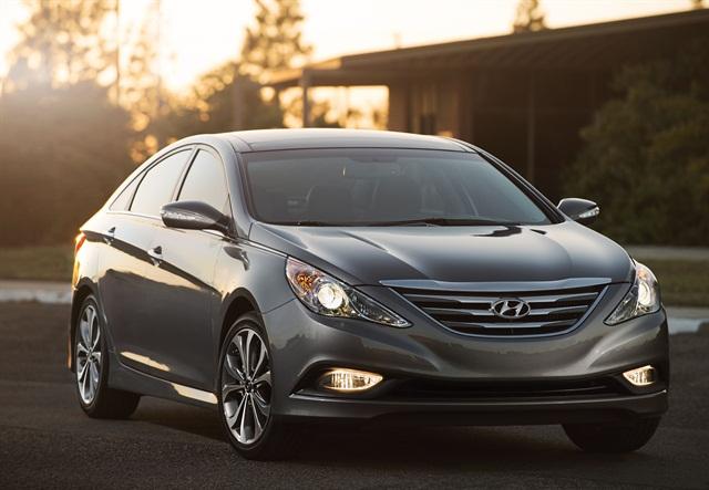 2014 Hyundai Sonata. Photo credit: Hyundai Motor America