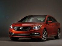 Hyundai Sonata Grows Larger for 2015
