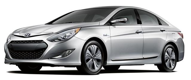 The 2013 Hyundai Sonata Hybrid.