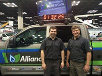 Alliance AutoGas Converts F-150 in Record Time