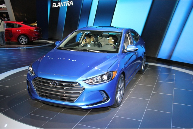 Photo of 2017 Hyundai Elantra by Paul Clinton.