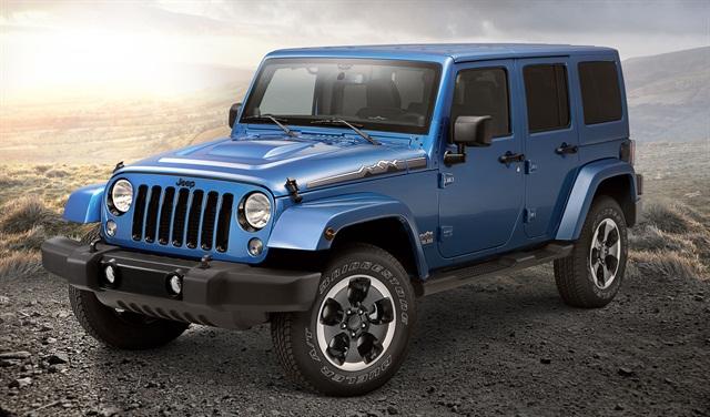 2014 Jeep Wrangler Polar Edition. Photo credit: Chrysler