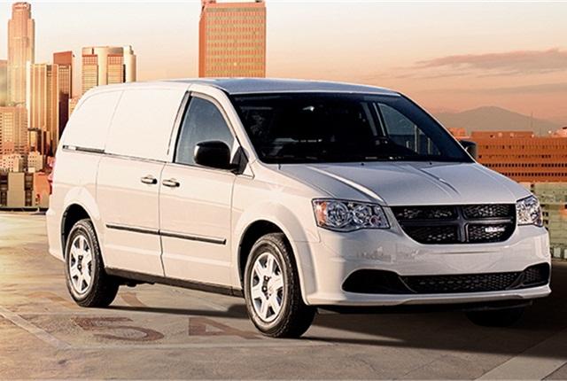 Photo of Ram C/V Tradesman cargo van courtesy of Chrysler.