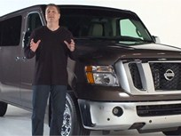<i>Video</i>: Nissan Shows Walk-arounds of NV Cargo and Passenger Vans