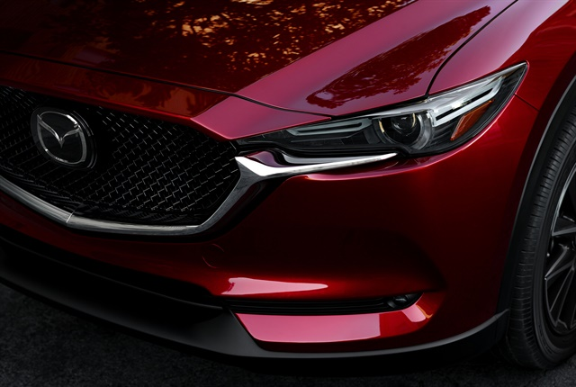 Photo of CX-5 grille courtesy of Mazda.