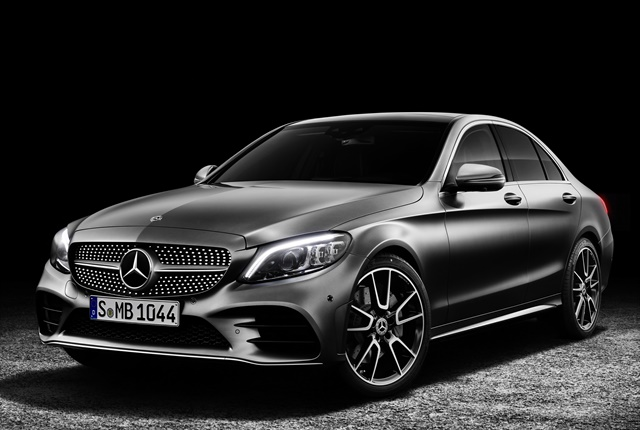 Photo of 2019 C-Class courtesy of Mercedes-Benz USA.