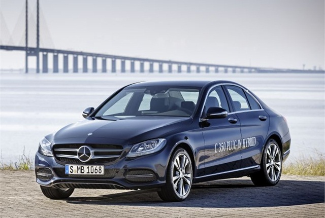 Photo of the 2015 C350 Plug-In Hybrid courtesy of Mercedes-Benz.