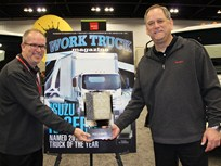 Isuzu N-Series Named Work Truck's 2013 Medium-Duty Truck of the Year