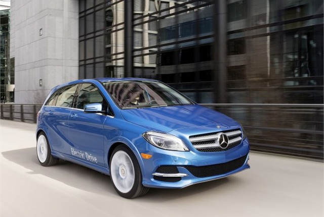 Photo of B-Class Electric Drive courtesy of MBUSA.