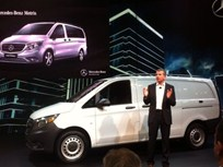 Mercedes-Benz Rolls Out Mid-Sized Metris Van