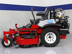 The propane mower that the Ford F-150 will be trailering during its coast-to-coast trip. Photo courtest of Alliance AutoGas.