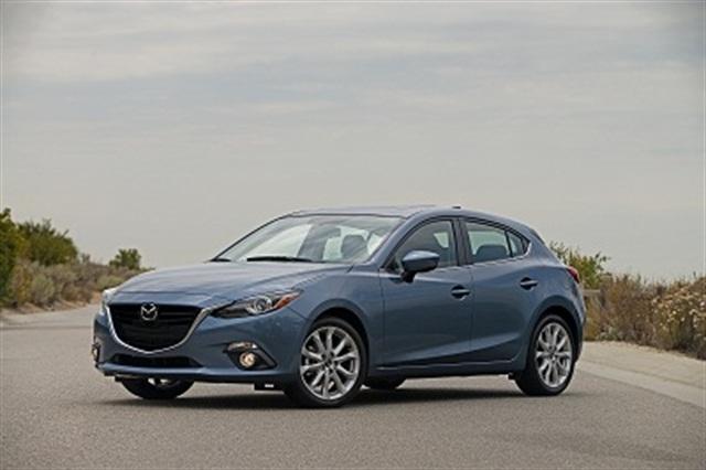 2014 Mazda3 sedan. Photo credit: Mazda