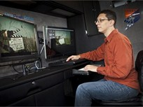 Nissan NV Powers Mobile Film Edit Suite