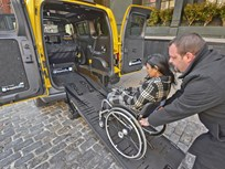 Nissan Shows Wheelchair-Accessible NV200 Taxi in New York