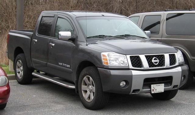 Nissan Titan, photo courtesy of Wikimedia.