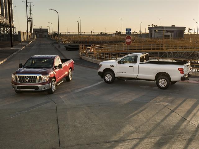 Photo of Titan SV and Titan XD S courtesy of Nissan.