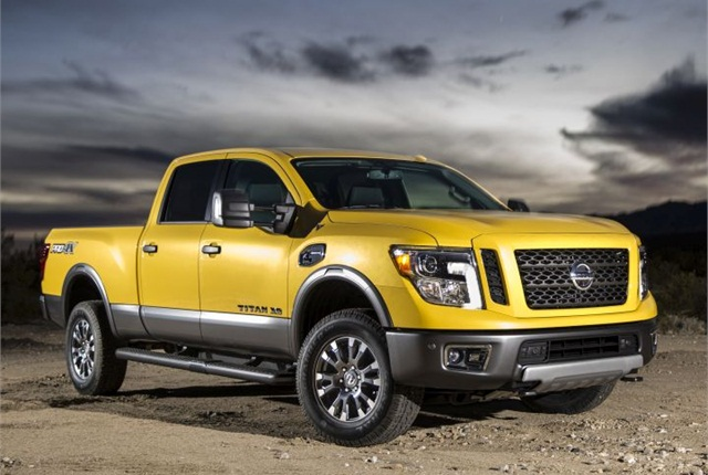 Photo of 2016 Titan XD courtesy of Nissan.