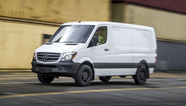 Photo of Mercedes-Benz Sprinter courtesy of MBUSA.