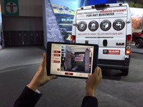 Ram's Tablet App Helps Fleets Configure Vans