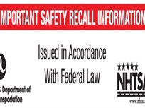 NHTSA Mandates New Label for Recall Mailings