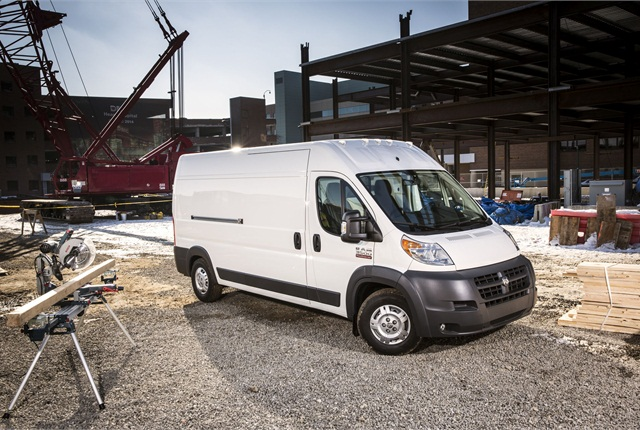 Photo of ProMaster courtesy of FCA US.