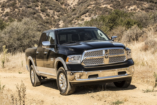 The Ram 1500 EcoDiesel was named the Rocky Mountain Automotive Press' Truck of the Year for 2015.Photo: Ram