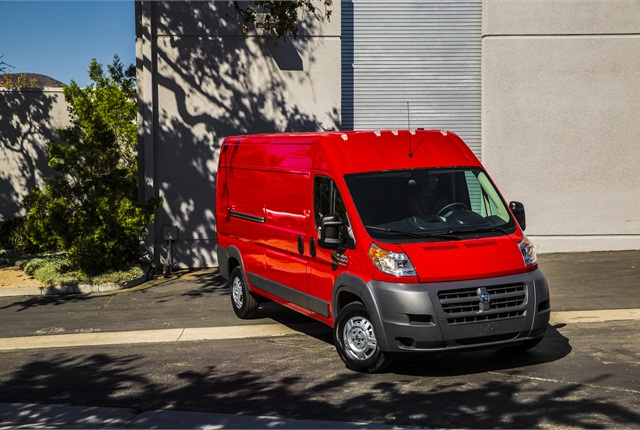 Photo of Ram ProMaster van courtesy of FCA US.