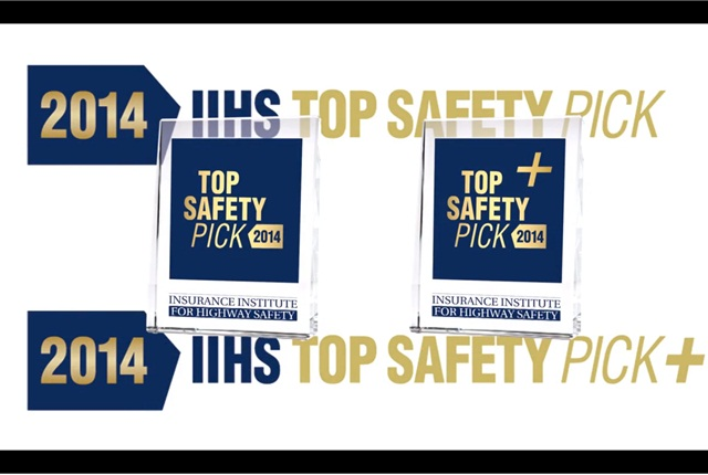 video 39 vehicles draw iihs safety awards top news safety accident top news business. Black Bedroom Furniture Sets. Home Design Ideas