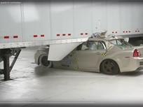 IIHS Tests Show Benefits of Semitrailer Side Underride Guards