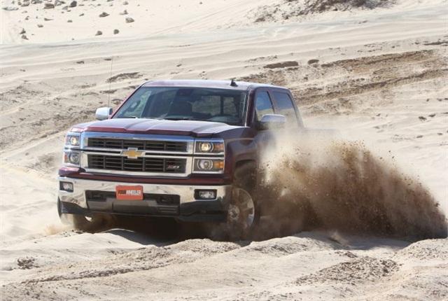 Photo of 2014 Chevrolet Silverado courtesy of GM.