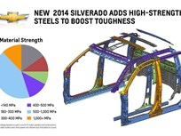MY-2014 Silverado Toughened with High-Strength Steel