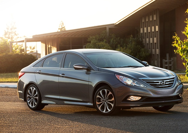 2014 Hyundai Sonata. Photo courtesy of Hyundai.