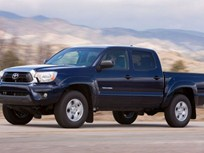 Toyota Redesigning Mid-Size Tacoma for 2016