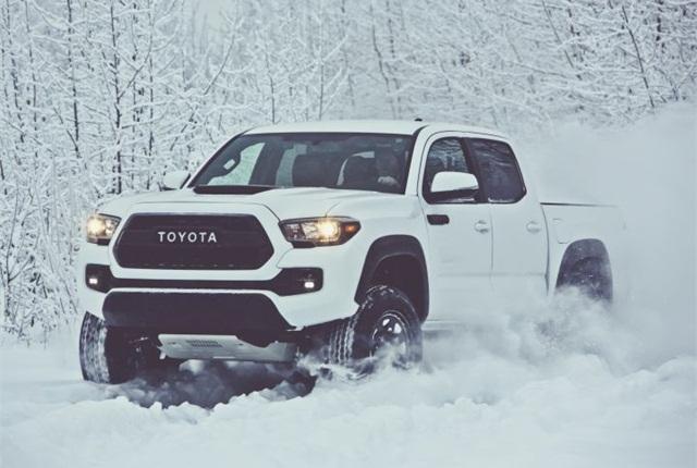 Photo of 2017 Tacoma TRD Pro courtesy of Toyota.
