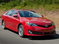 The 2014-MY Toyota Camry Offers Four-Cylinder, V-6, and Hybrid Models