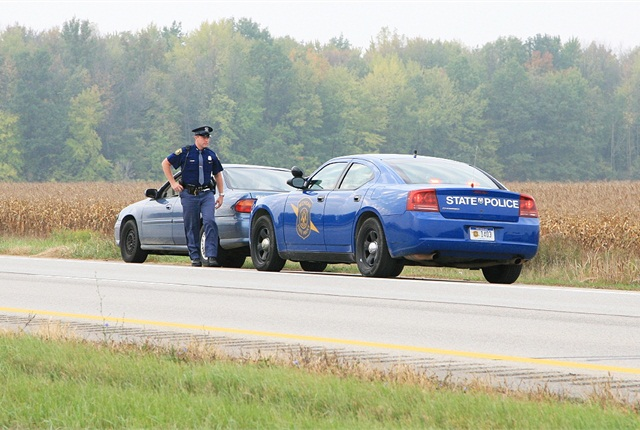 Photo courtesy of Michigan State Police.
