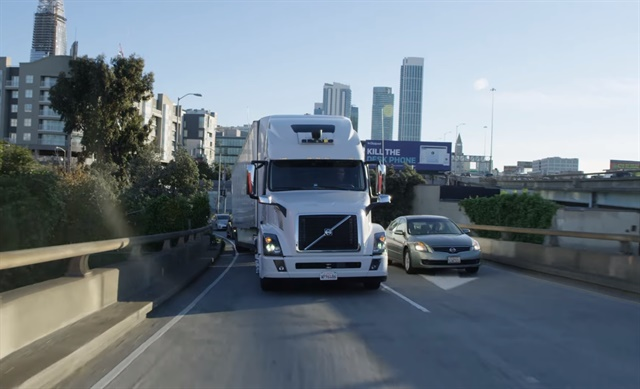 The lawsuit centered around Uber's acquisiton of Otto, an autonomous truck company started by a former Waymo employee. Photo: Uber