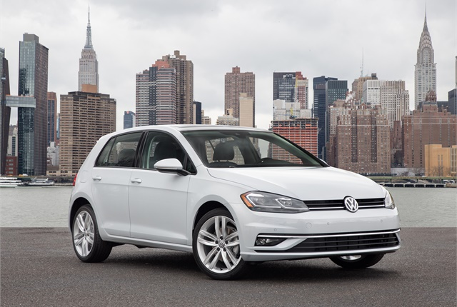Photo of 2018 Golf courtesy of Volkswagen.