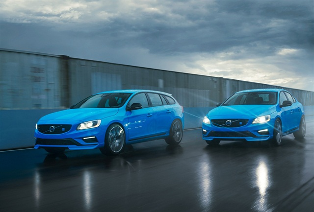 The new Volvo S60 and V60 Polestar will make their debut in 2014. Photo credit: Volvo