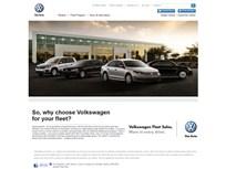 Volkswagen Launches New Corporate Fleet Website