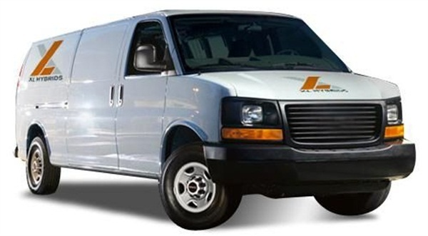 XL Hybrids' technology will initially be available for the 2013-model year 4.6L Ford E-150 and E-250 cargo van and passenger wagon models.